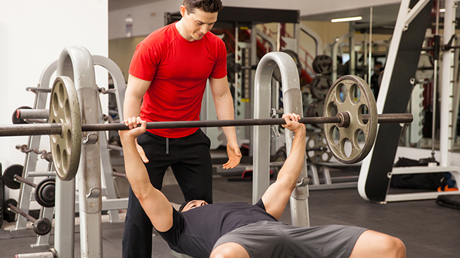 Bench Press for Complete Sprinter Workout
