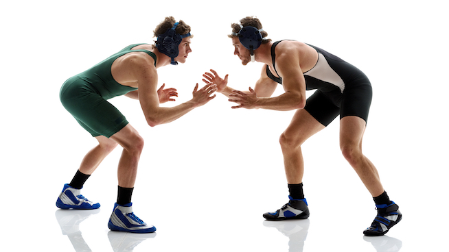 Why Wrestlers Make Awesome Football Players